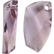 1 Swarovski Crystal Light Amethyst Avant-garde Pendant Article 6620