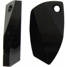 1 Swarovski Crystal Jet Black Avant-garde Pendant Article 6620