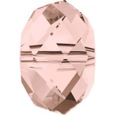 20 Swarovski Crystal 5040 Vintage Rose 6mm Rondelle Beads