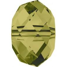 20 Swarovski Crystal Khaki 6mm Rondelle Beads Article 5040