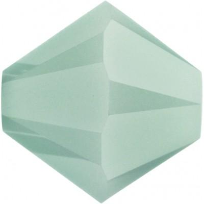 50 Swarovski Crystal Mint Alabaster 5mm Bicone Beads Article 5301/ 5328