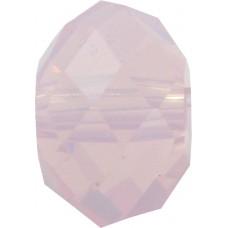 20 Swarovski Crystal Rose Water Opal 6mm Rondelle Beads Article 5040
