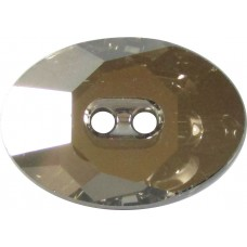 1 Swarovski Crystal Satin 3026 Button
