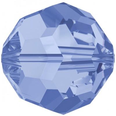 20 Swarovski Crystal 6mm Sapphire Round Beads
