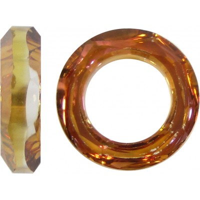 1 Swarovski Crystal  Crystal Copper 14mm Cosmic Ring Article 4139