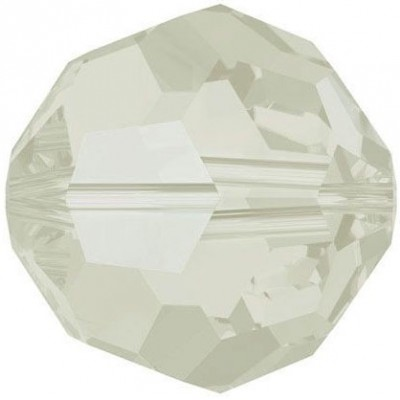 20 Swarovski Crystal 6mm Light Grey Opal Round Beads Article 5000