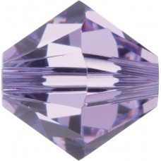 100 4mm Swarovski Crystal Violet Bicone Beads Article 5301/ 5328