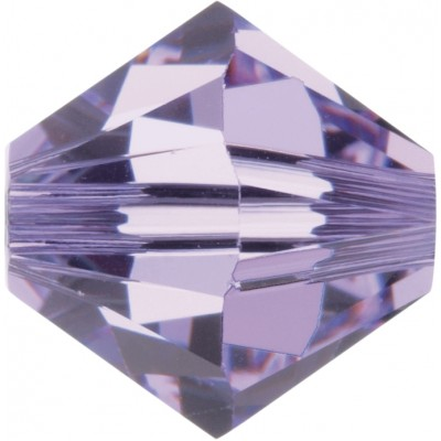 100 4mm Swarovski Crystal Violet Bicone Beads Article 5301/ 5328