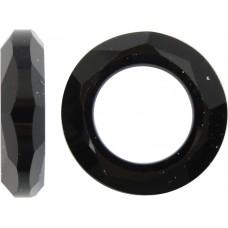 1 Swarovski Crystal Jet 14mm Cosmic Ring Article 4139