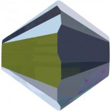 50 Swarovski Crystal Vitrail Medium 4mm Bicone Beads Article 5301/ 5328