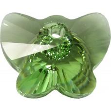 1 Swarovski Crystal Butterfly Pendant Peridot Article 6754