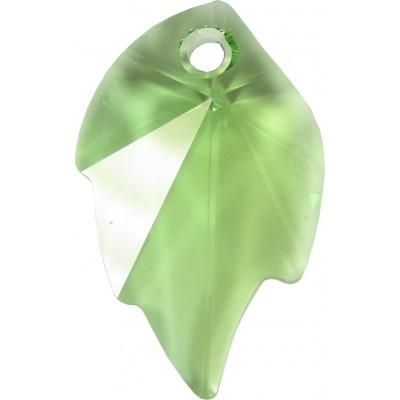1 Swarovski Crystal Peridot Leaf Pendant Article 6735