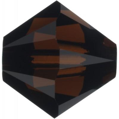 100 Swarovski Crystal Mocca 4mm Bicone Beads Article 5301/ 5328