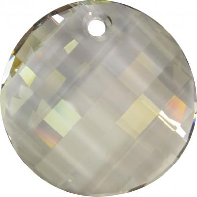 1 Swarovski Crystal Twist Pendant Crystal Silver Shade Article 6621