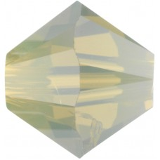 50 Swarovski Crystal Sand Opal 5mm Bicone Beads Article 5301/ 5328