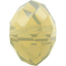 20 Swarovski Crystal Sand Opal 6mm Rondelle Beads Article 5040