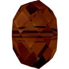 20 Swarovski Crystal Mocca Rondelle Beads Article 5040