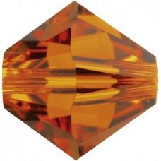 50 Swarovski Crystal 5mm Crystal Sun Bicone Beads Article 5301/ 5328