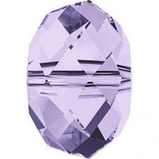 20 Swarovski Crystal 5040 Violet 6mm Rondelle Beads