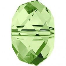 20 Swarovski Crystal Peridot 6mm Rondelle Beads Article 5040