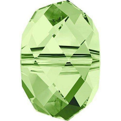 20 Swarovski Crystal 5040 Peridot 6mm Rondelle Beads