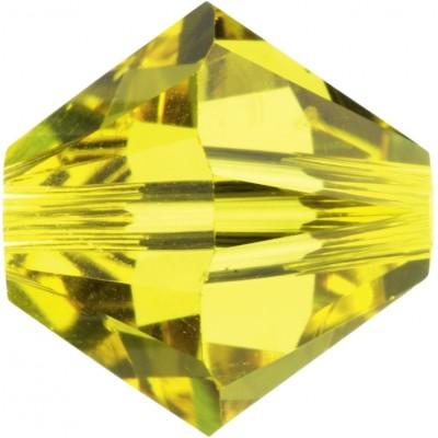 50 Swarovski Crystal 5mm Citrine Bicone Beads Article 5301/ 5328