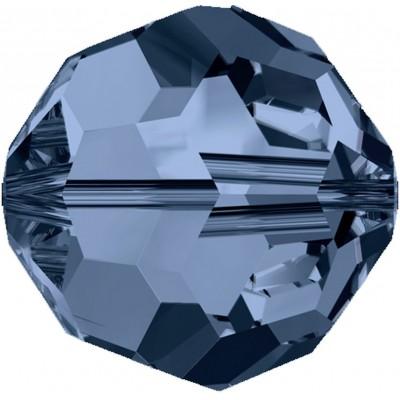 20 Swarovski Crystal 6mm Montana Round Beads Article 5000