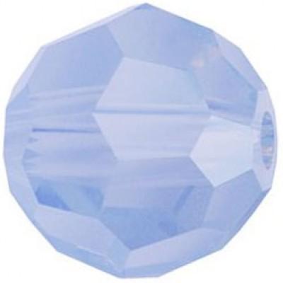 20 Swarovski Air Blue Opal 6mm Round Beads Article 5000