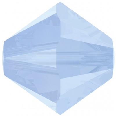 50 Swarovski Crystal 5mm Air Blue Opal Bicone Beads Article 5301/ 5328