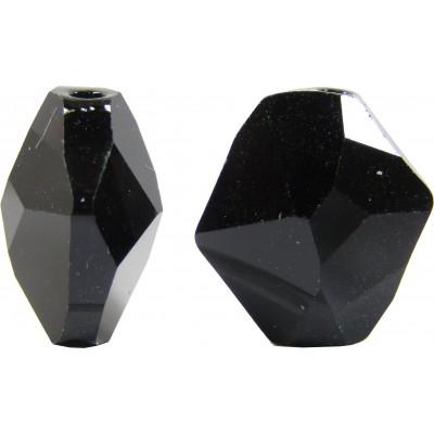 2 Swarovski Crystal Jet Cosmic Bead Article 5523