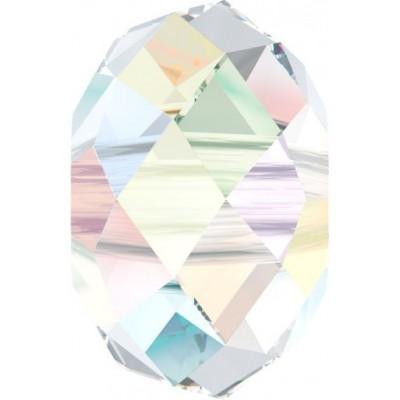 1 Swarovski Crystal AB 18mm Large Hole Rondelle Bead