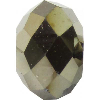 20 Swarovski Crystal Metallic Light Gold 6mm Rondelle Beads Article 5040