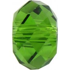 20 Swarovski Crystal Fern Green 6mm Rondelle Beads Article 5040
