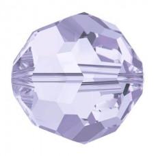 20 Swarovski Crystal Provence Lavender 6mm Round Beads