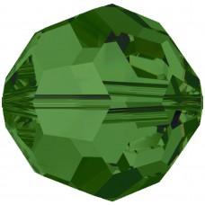20 Swarovski Crystal Fern Green 6mm Round Beads Article 5000