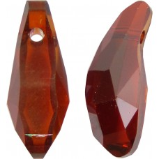 1 Swarovski Crystal 18mm Red Magma Aquiline Bead Article 5531
