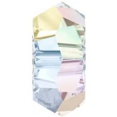 10 Swarovski Crystal AB 6mm Rondelle Beads Article 5308