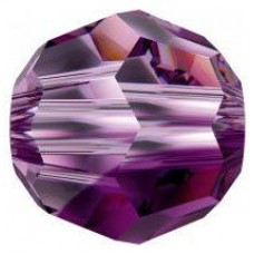 20 Swarovski Crystal Amethyst Blend 6mm Round Beads Article 5000