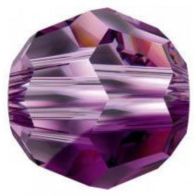 20 Swarovski Crystal Amethyst Blend 6mm Round Beads Article 5000