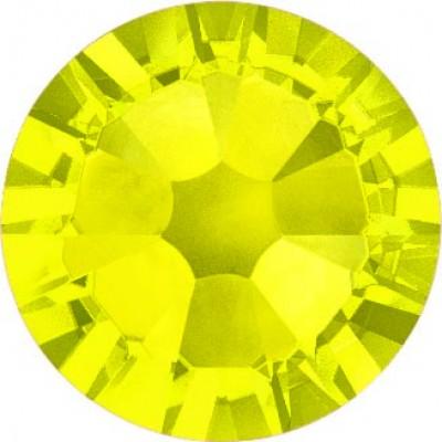 100 Swarovski Crystal Hotfix Crystal Citrine SS16
