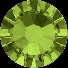 100 Swarovski Crystal Hotfix Crystal Olivine SS10