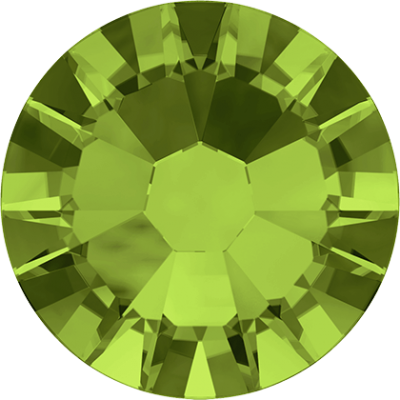 100 Swarovski Crystal Hotfix Crystal Olivine SS16