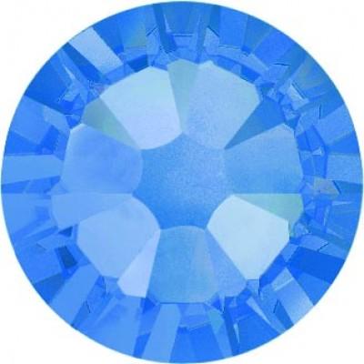 100 Swarovski Crystal Hotfix Crystal Sapphire SS10