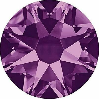 100 Swarovski Crystal Hotfix Crystal Amethyst SS10