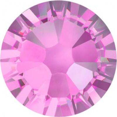 100 Swarovski Crystal Hotfix Crystal Light Rose SS10