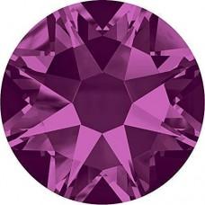 100 Swarovski Crystal Hotfix Crystal Fuchsia SS10