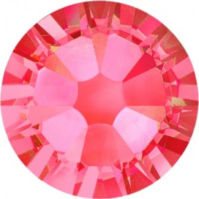 100 Swarovski Crystal Hotfix Crystal Padparadscha SS10