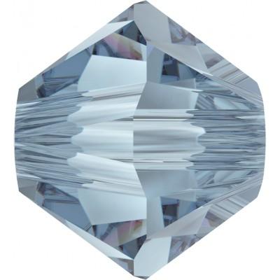 50 Swarovski Crystal Denim Blue 5mm Bicone Beads Article 5301/ 5328