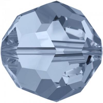 20 Swarovski Crystal Denim Blue 6mm Round Beads Article 5000