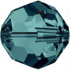 20 Swarovski Crystal Indicolite 6mm Round Beads Article 5000